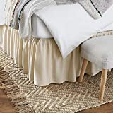 Mattress-Homes Ruffled Bed Skirt- 21 Inch Drop
