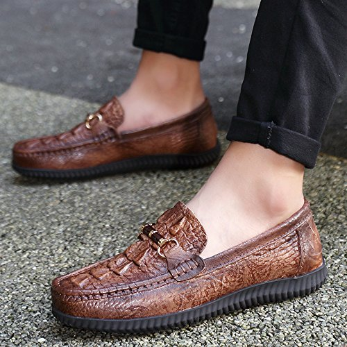 The Man Driving The Car Skid Shoes Casual Shoes High Quality Classic Casual Shoes Light brown RxIu4my4