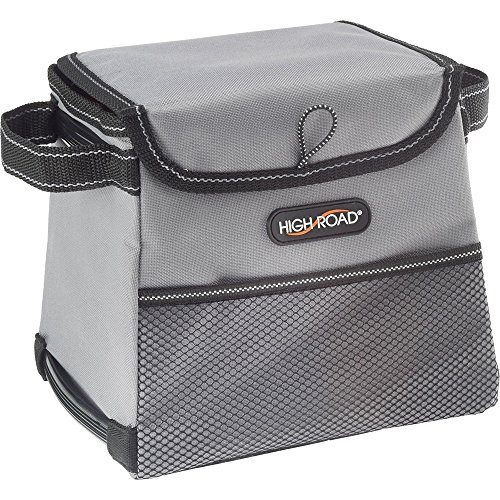 Inside Door Pocket Liner - High Road StableMate Car Trash Bin with Leakproof Lining and Lid (Small, Gray)