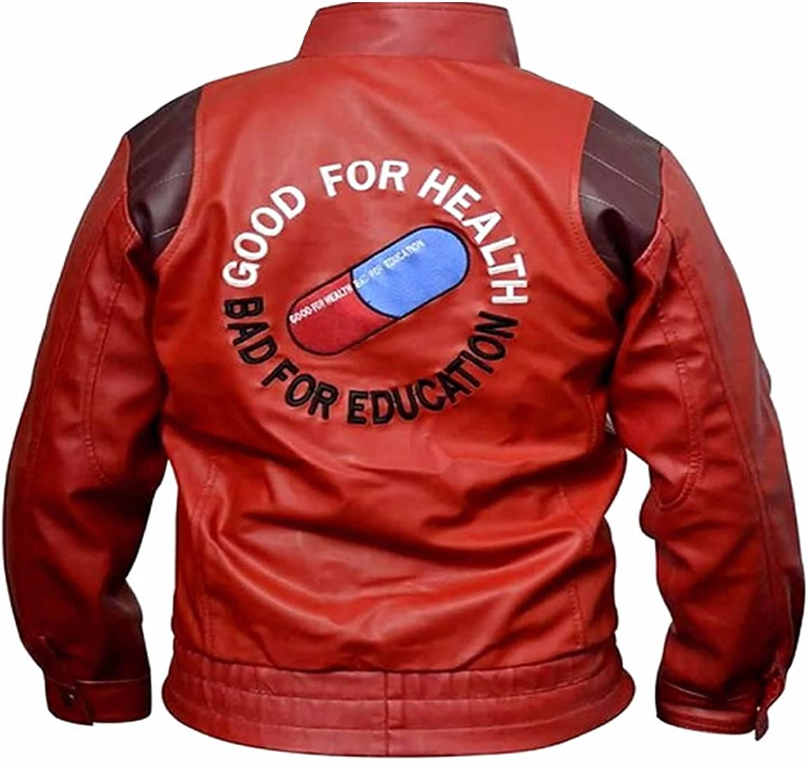 Classyak Mens Fashion Leather Jacket Capsule Embroidered
