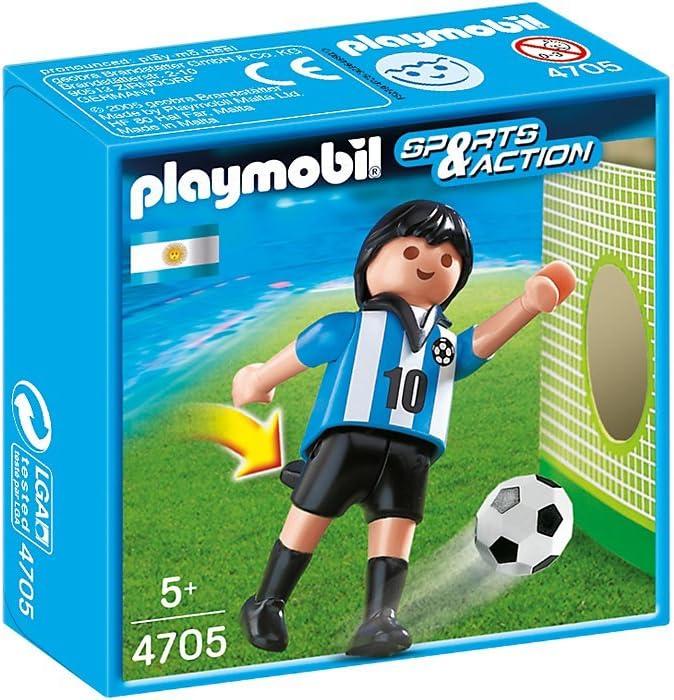 Playmobil Fútbol - Fútbol: Jugador Argentina (4705): Amazon.es ...