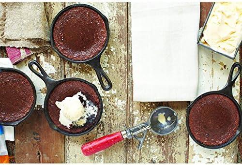 HomeDecTime Poêle à Crêpes Pour œufs Et Poêlons Antiadhésifs Poêle à Frire Friteuse Cuisine Barbecue - 14cm