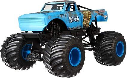Amazon Com Hot Wheels Monster Jam Big Kahuna Vehicle Toys Games