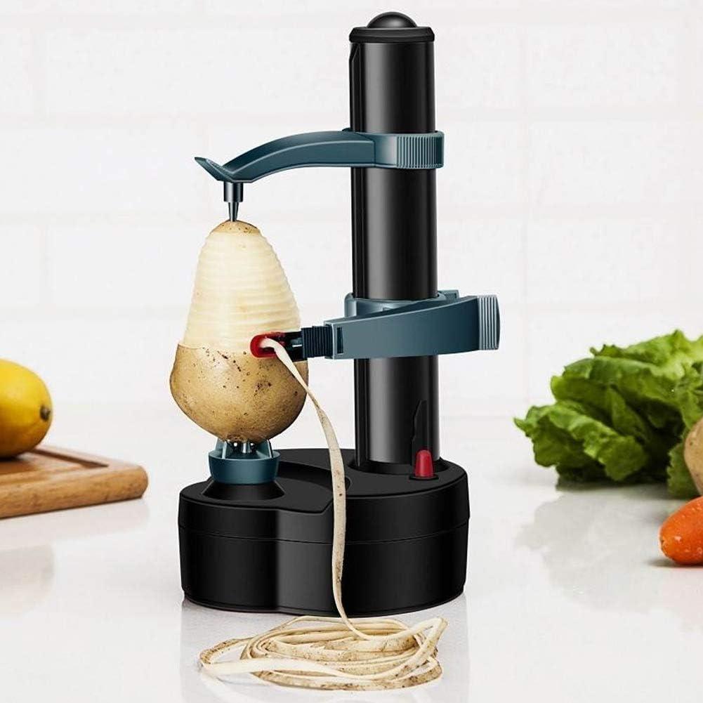 Jeffergarden Pelador eléctrico Multifuncional Hogar Eléctrico Pelador de Patatas Fruta Máquina de pelar Vegetales Utensilios de Cocina