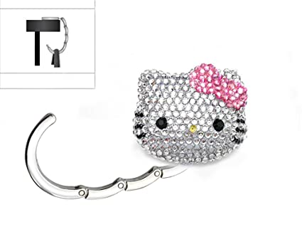 2c44a5943597 Image Unavailable. Image not available for. Color  LOVEKITTY 3D Fully  Blinged Out Foldable Hello Kitty ...