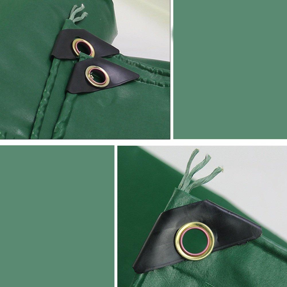 CAOYU Wasserdichtes Anti-Oxyd Sonnenschutz-Abdeckungs-Fracht-LKW-staubdichtes windundurchlässiges Schuppengewebe Anti-Oxyd Wasserdichtes der Plane der Gartenarbeitanlage, grün 39642b