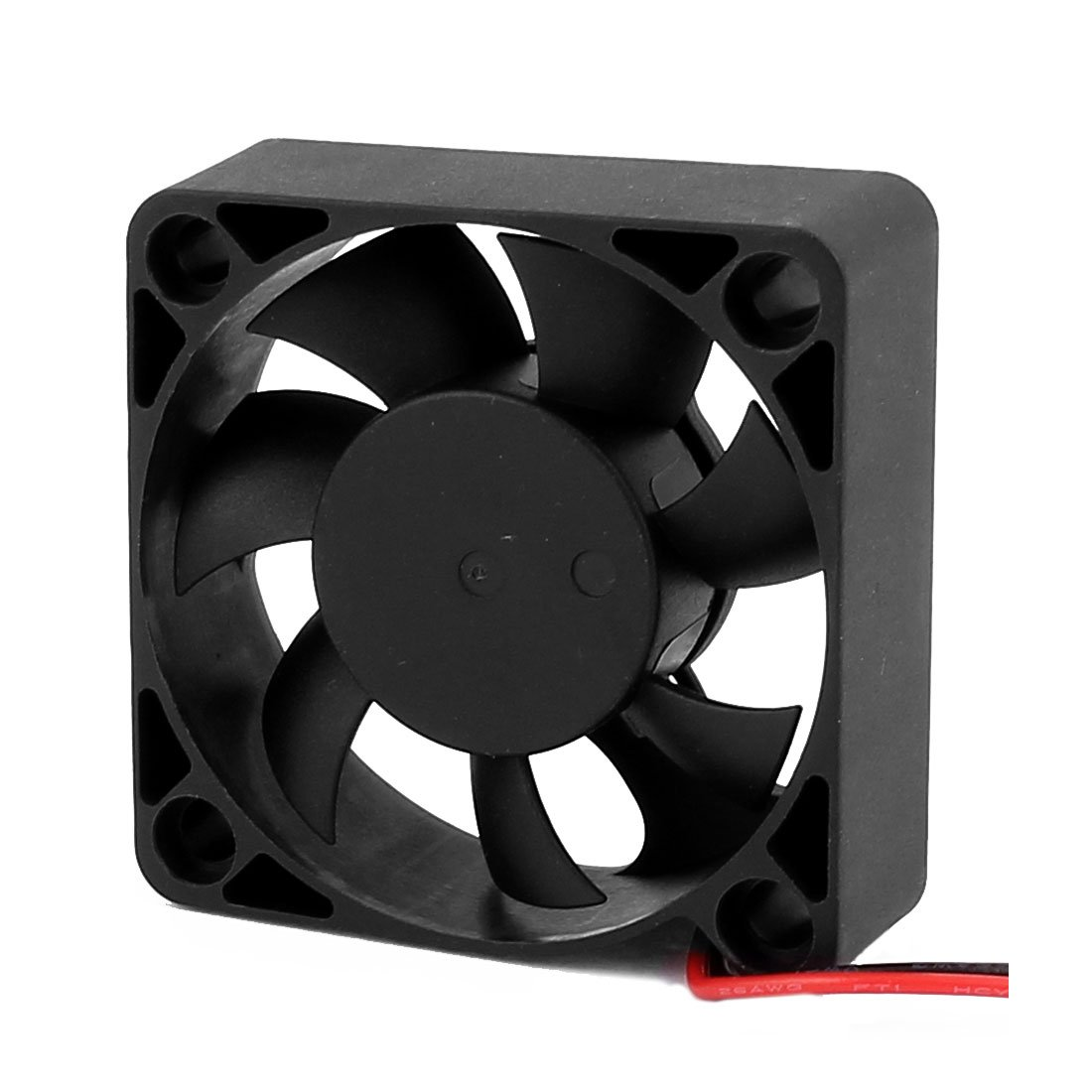 Aexit DC 24V Electrical equipment 50mmx50mmx10mm Brushless 7 Vanes Cooling Cooler Case Fan