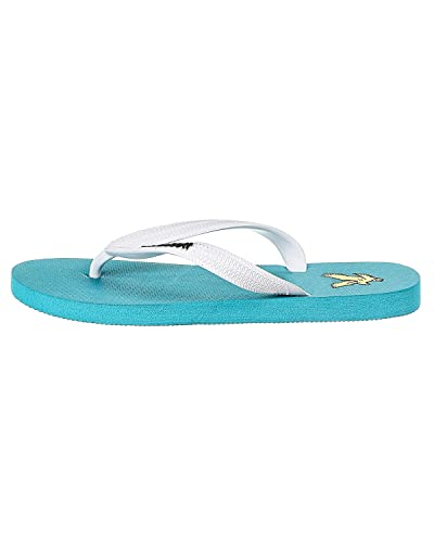 41f4cabb82f47b Mens Lyle and Scott Mens Brora Flip Flops in Turquoise - S  Amazon ...