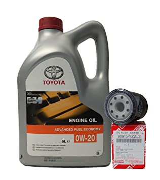 Pack Duo Toyota Genuine Service Kit Hybrid Aceite Motor 0W ...