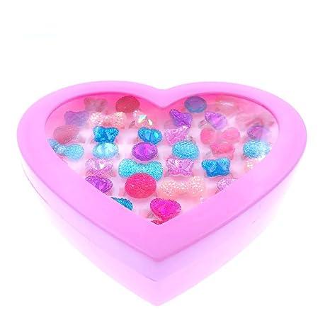 dde03cbae0246b JZK 36 Anneaux de Cristal réglable de Pierres précieuses pour Enfants  Adultes, Bijoux de Jouet pour Cadeaux d anniversaire pour Enfants pour  Enfants Petite ...