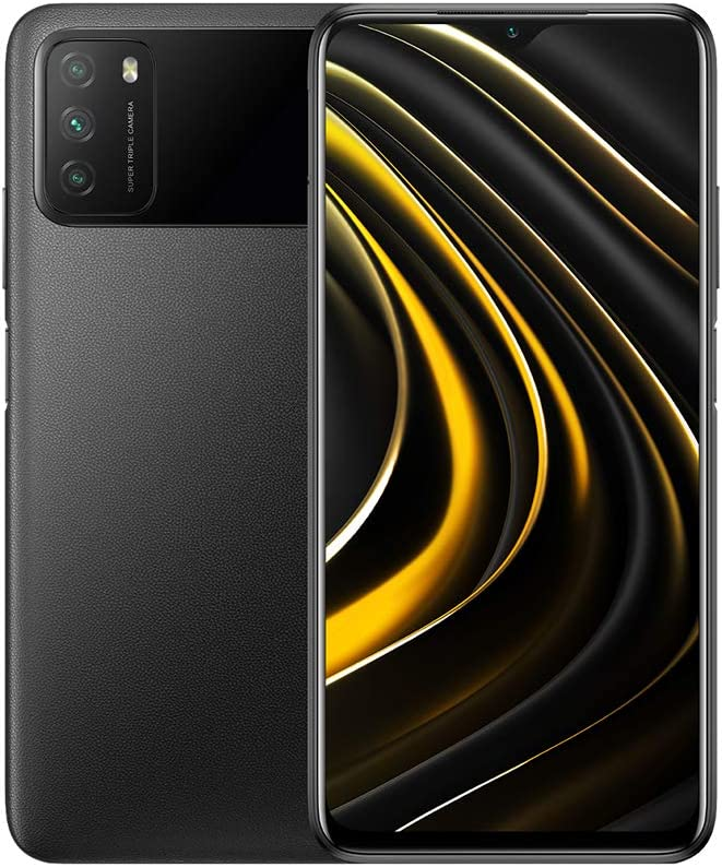 Xiaomi Poco M3 - Smartphone 128GB, 4GB RAM, Dual Sim, Power Black