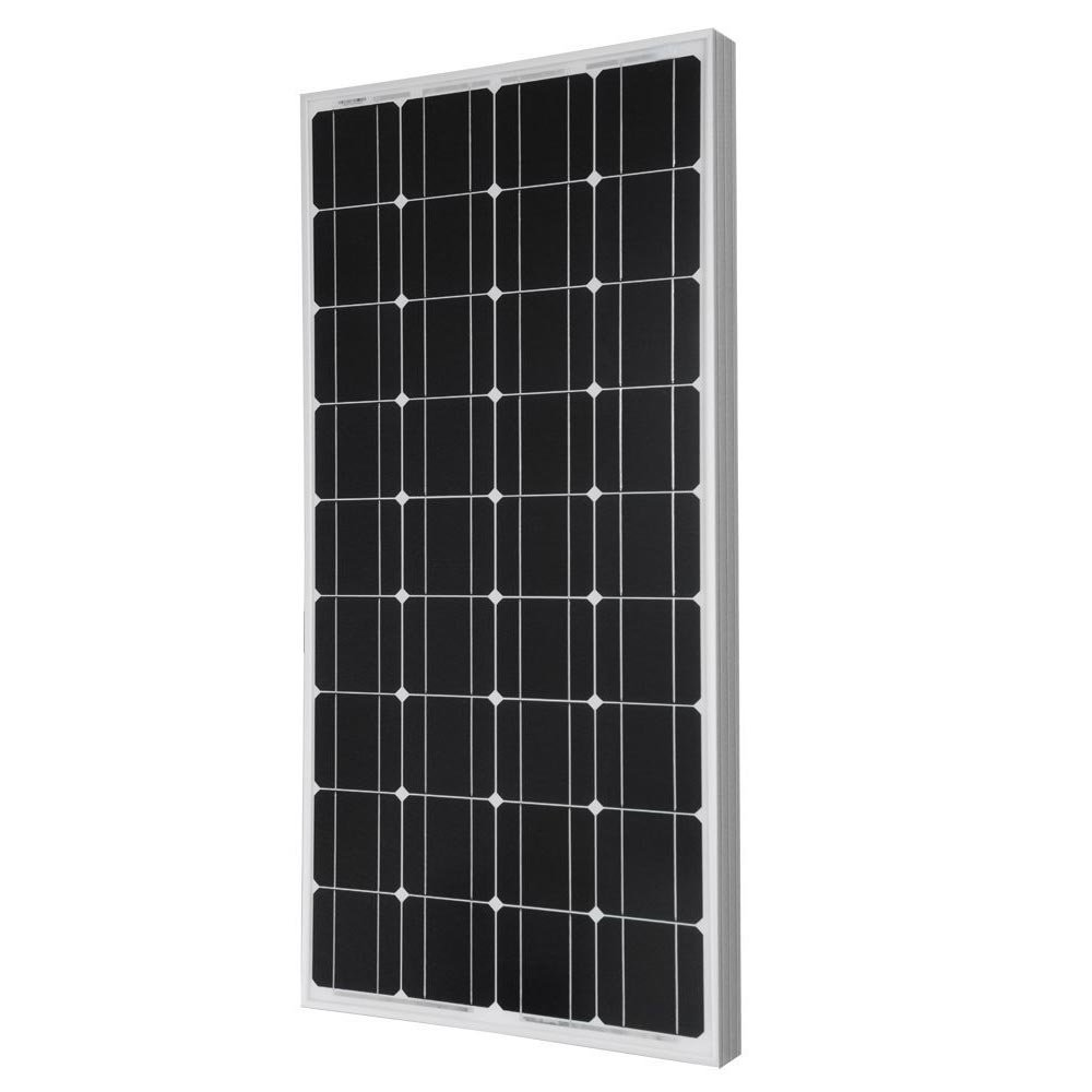 Giosolar 100W Solar Panel 100Watts 12v Monocrystalline Solar Panel 100W, 90mm of special cable with MC4 connectors attached, Off Grid 12 Volt 12V RV Boat-Giosolar SK-1