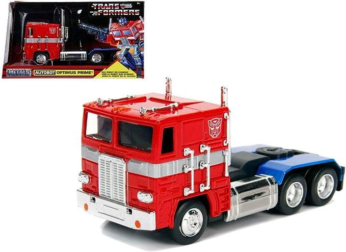 Jada Transformers G1 Optimus Prime 1:32 Scale 99477 New: Amazon.es: Juguetes y juegos