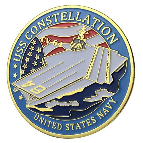 U.S. Navy USS Constellation / CV-64 GP Challenge Coin 1128#
