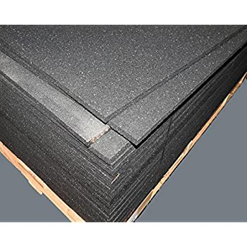 Amazon Com American Made Thick Rubber Gym Flooring 3 4 Thick 48