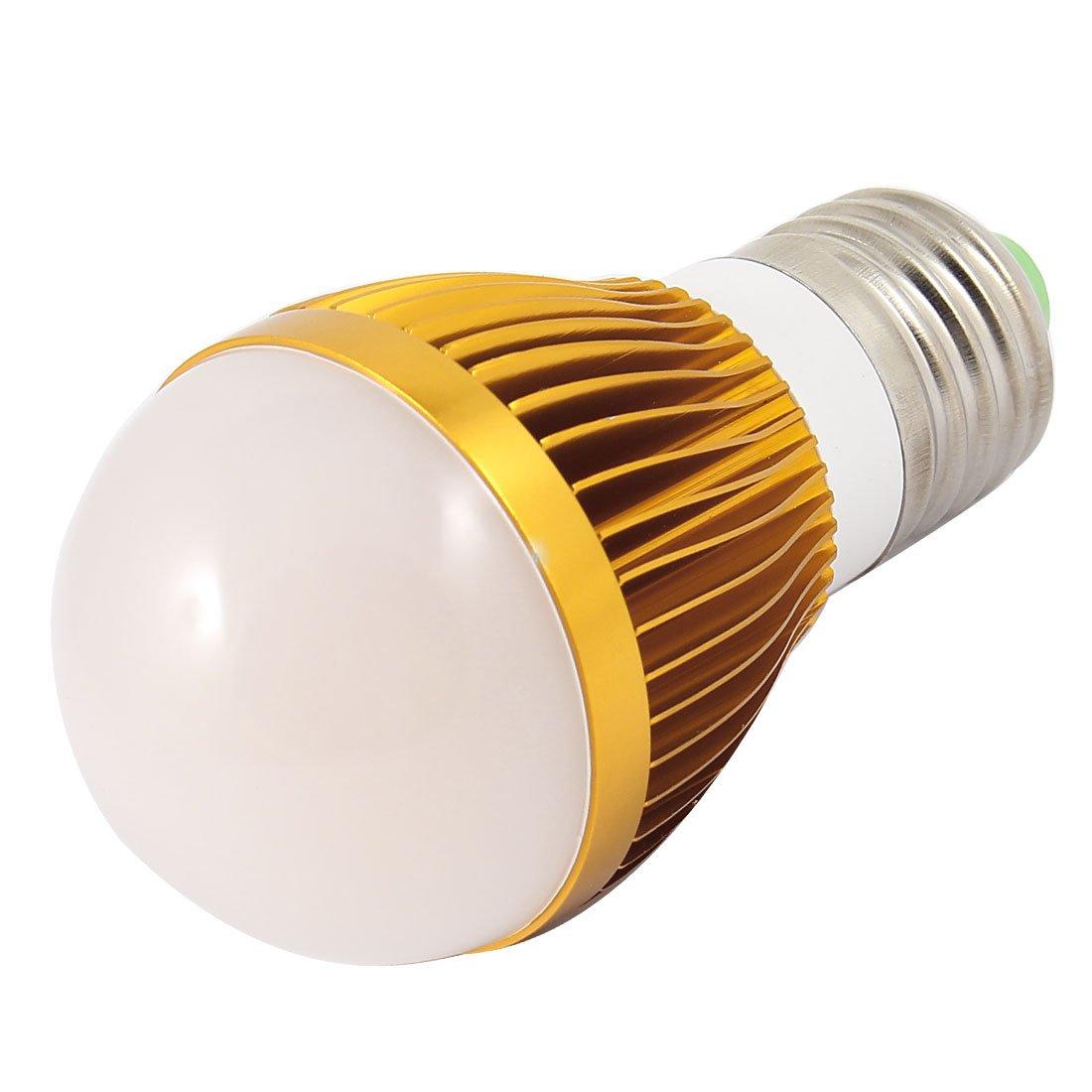 en alliage d'aluminium 3W Power Base E2746mm Dia Boule LED Ampoule Lampe Coque