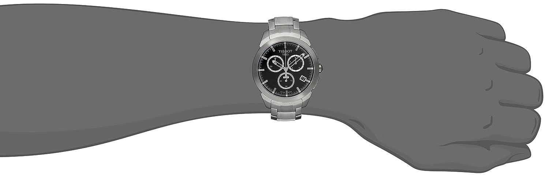 Tissot Men s T0694174405100 Analog Display Swiss Quartz Silver Watch
