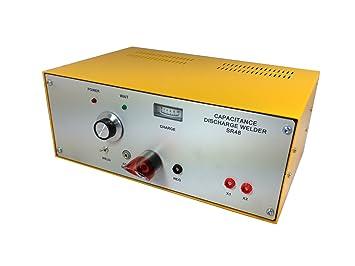 Soldador Termopar - 48 Joules Soldador por descarga de condensador de la marca Temperature Technology Ltd, para Termopares y Hilos Finos.