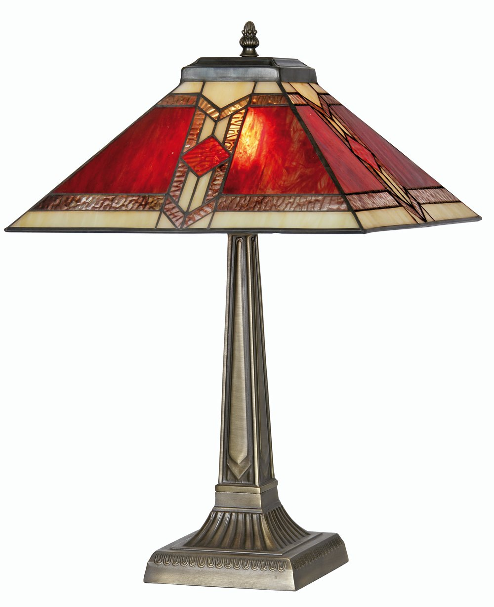 Oaks lighting aztec tiffany table lamp amazon lighting aloadofball Images