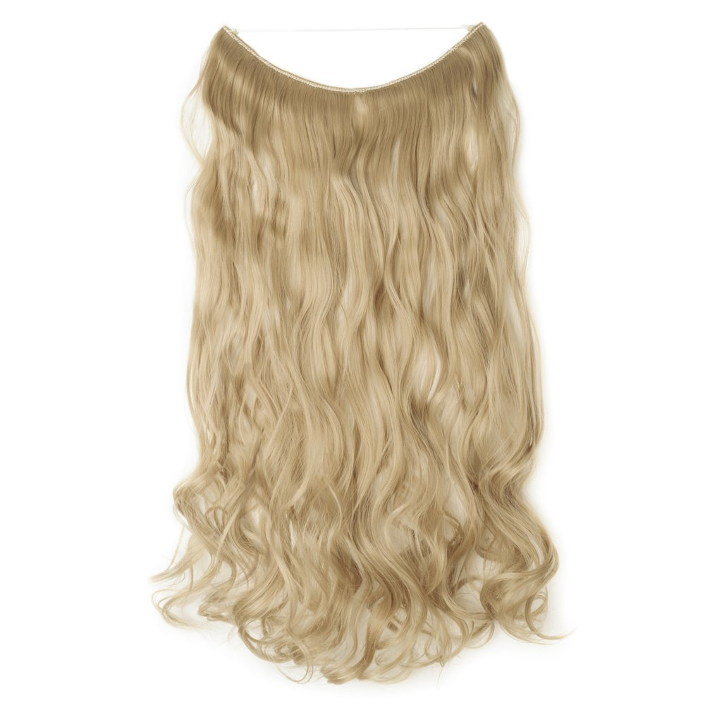 Amazon Hair Extensions 24 125g Invisible Wire No Clips In