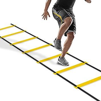 PULCHRA Agility Speed Ladder Athletic Football Soccer Basketball ...