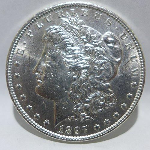 1897 Morgan Silver Dollar Almost (1897 Coin)