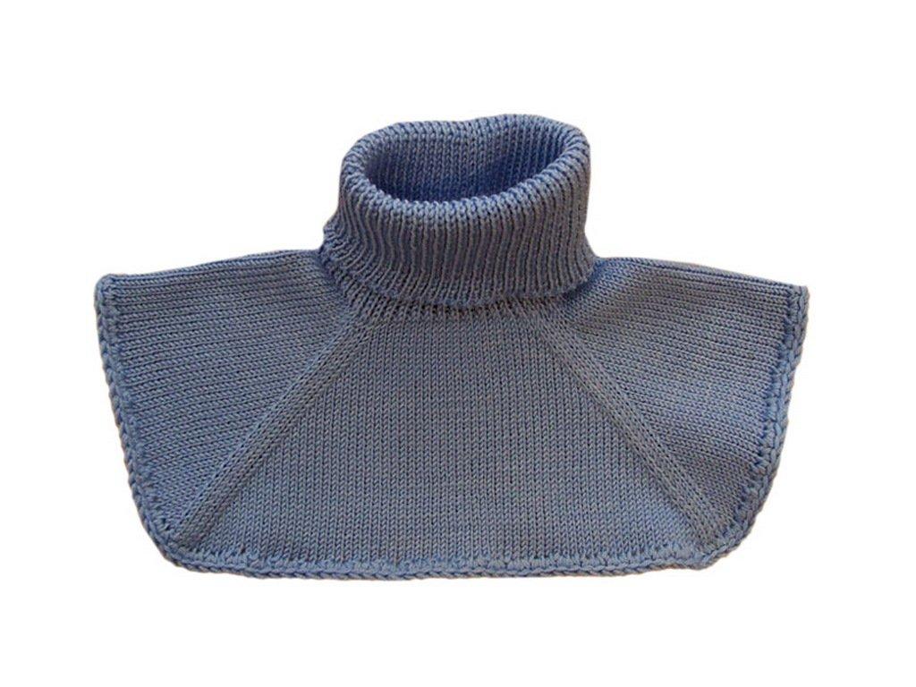 100% Merino Wool Baby Children Knitted Neck Warmer Scarf Winter