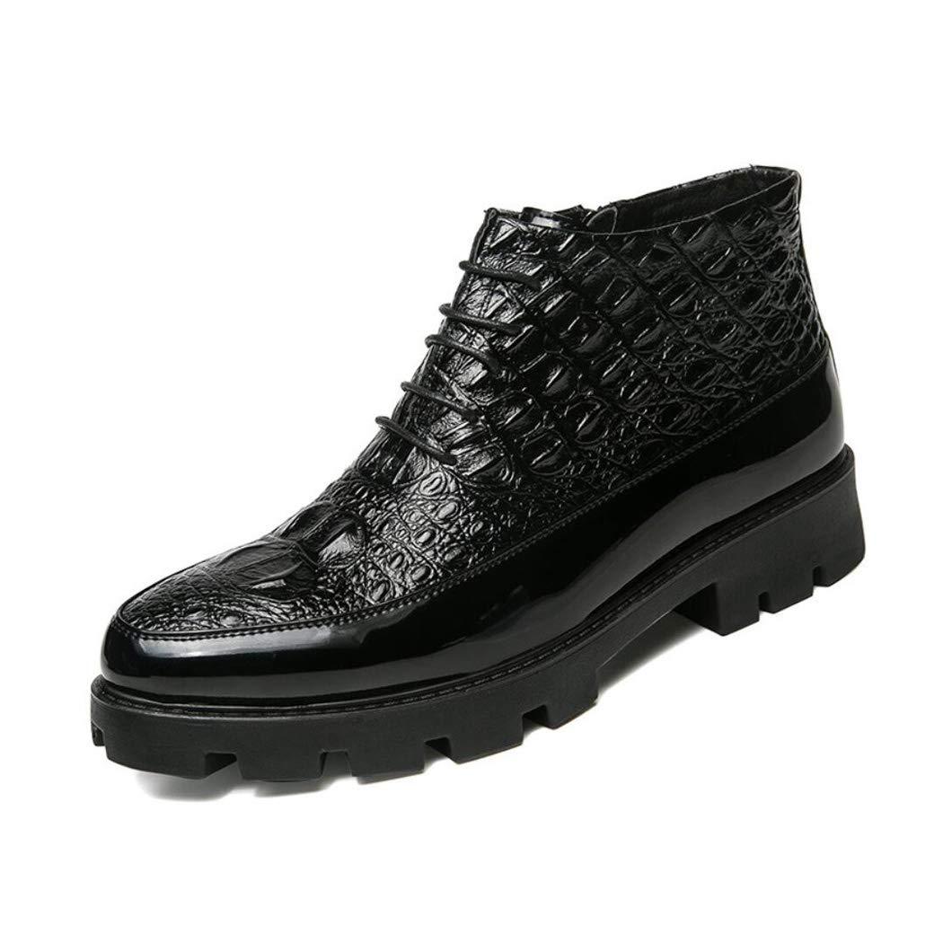 Zxcvb Herren High Top Schuhe solide Martin Business Stiefel