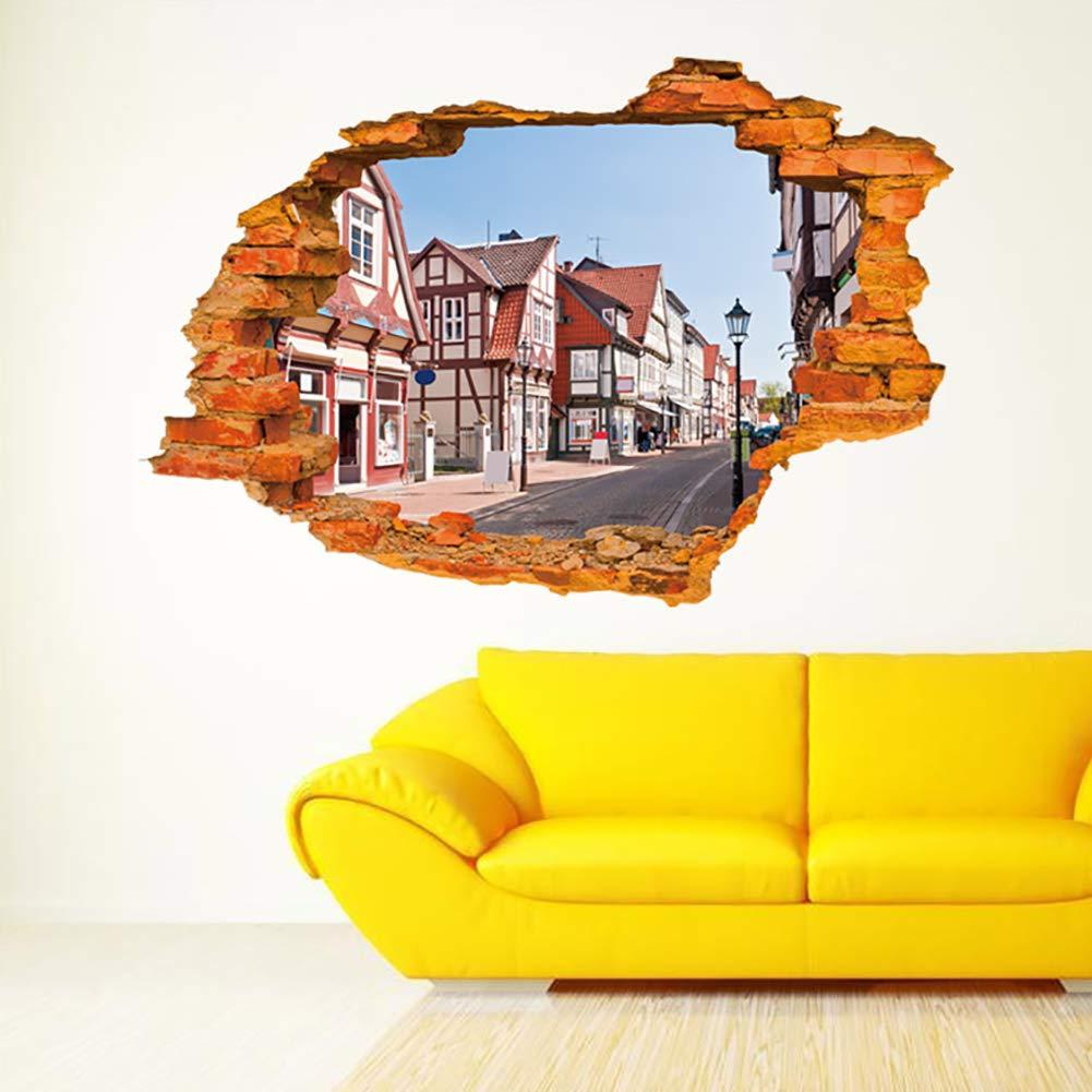 Amazon.com: dds5391 Creative 3D Lip Shape Mirror Wall Stiker Fashion ...