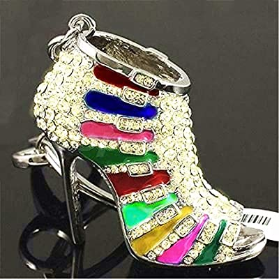Luggage & Bags New 1pc Bag Pendant Women High Heel Metal Shoe Purse Charm Pendant Bag Keyring Bag Accessories New Factory Direct Selling Price