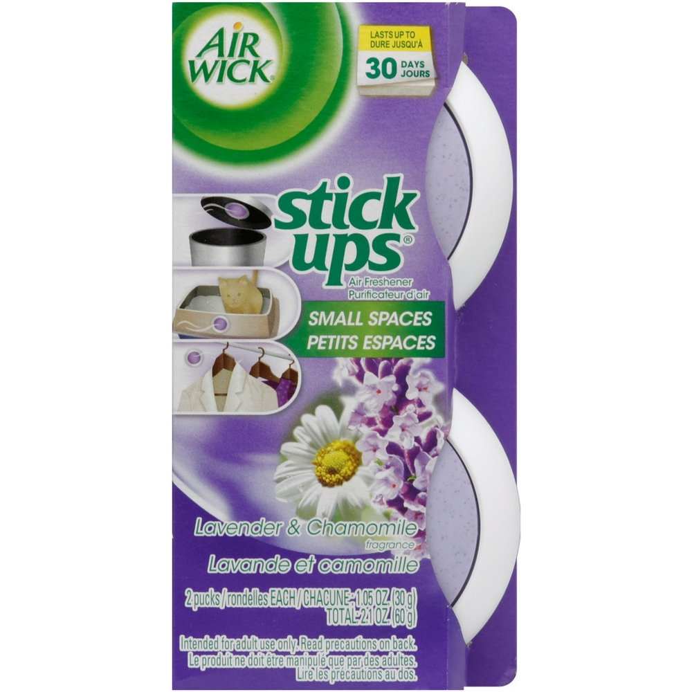 Air Wick Stick Ups Air Freshener, Lavender & Chamomile, 2ct
