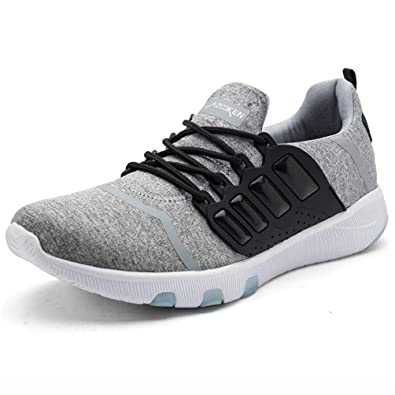 a843ad4ee50d Axcone Homme Femme Baskets Chaussures Sport Outdoor Running Gym Fitness  Sneakers Style Running Garcon Fille Respirante