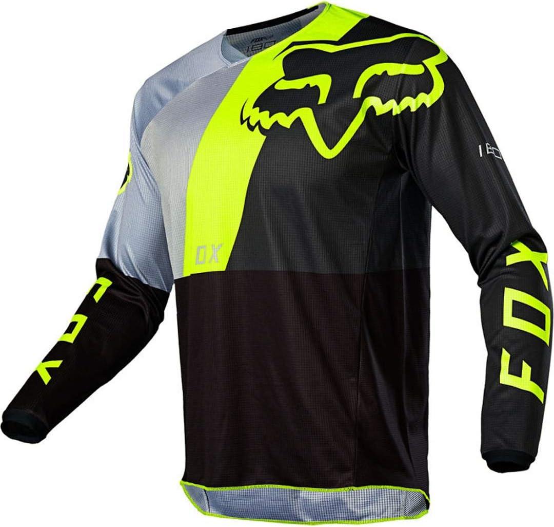 FOX 180 Lovl Jugend Motocross Jersey Schwarz//Gelb YM