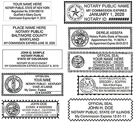 Excelmark Self Inking Notary Stamp All 50 States