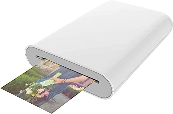 Bainuojia Zip Handy Drucker Fotodrucker Für Smartphone Ios Android Zink Tintenloser Sofortdrucker Bluetooth Küche Haushalt