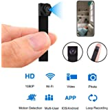Mini WiFi DIY Spy Camera 1080P Wireless Hidden Camera Small Nanny Cam with Motion Detection Home Security Recording…