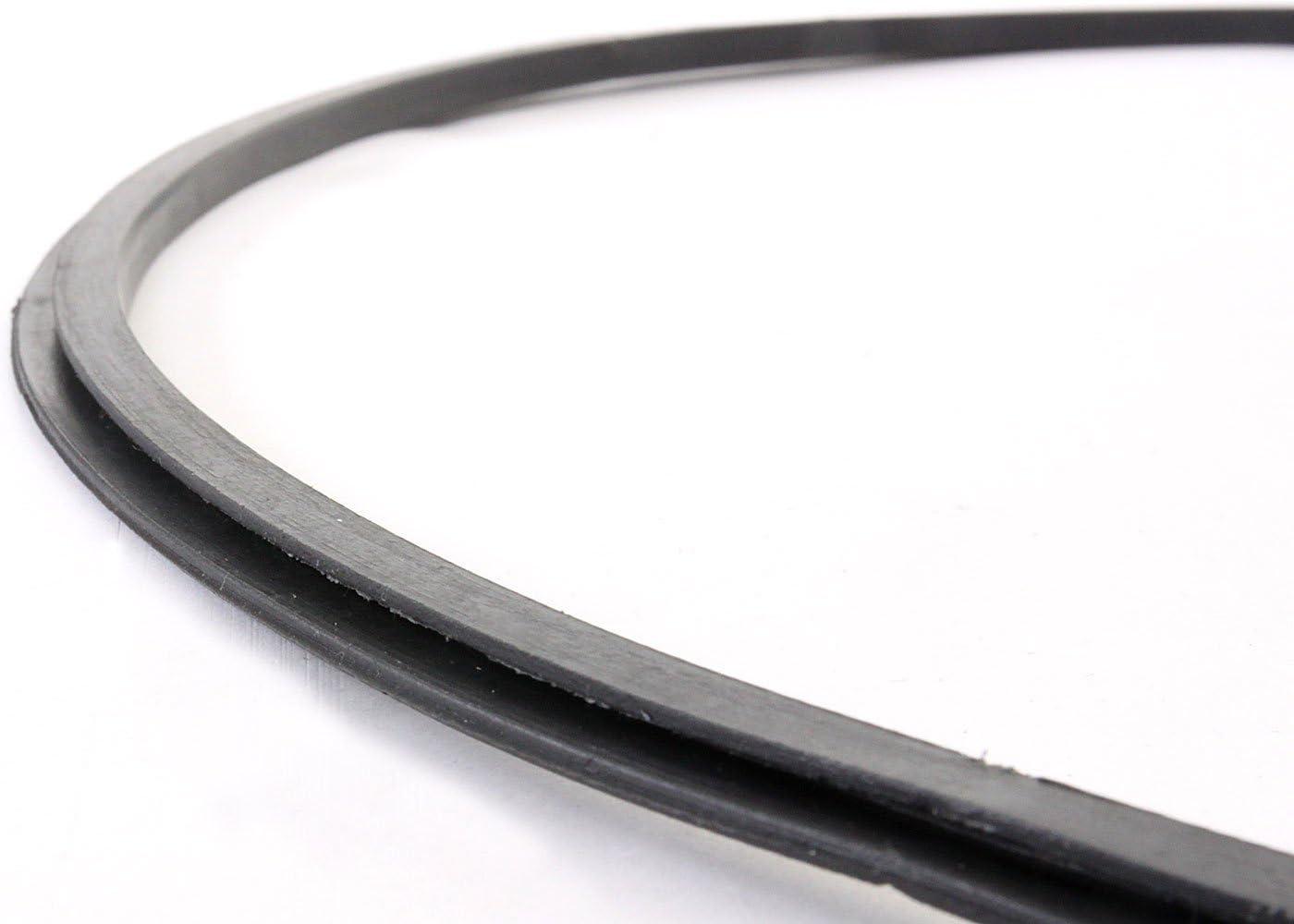 Mendler Protezione in Gomma per Pavimenti per sgabelli con Base Rotonda T844 /Ø 38,5cm