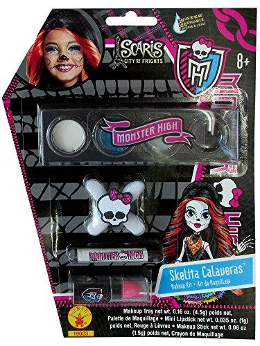 Monster High Skelita Calaveras Costume Makeup