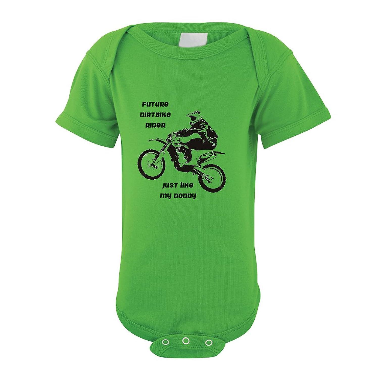 Amazon Future Dirt Bike Rider Like My Daddy Baby Bodysuit e