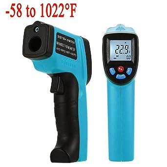 Termómetro de infrarrojos, XSMeterHouse láser Punto Termómetro Blustmart infrarrojo sin contacto digital -50 ℃