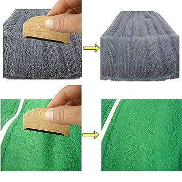 Holz Kleidung Pullover Fusselentferner Fussel Trimmer Rasierer Kamm Garment UE
