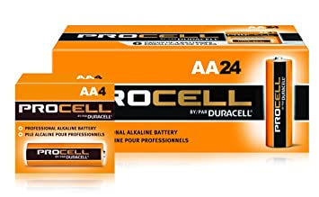 Review Duracell Procell AA 24
