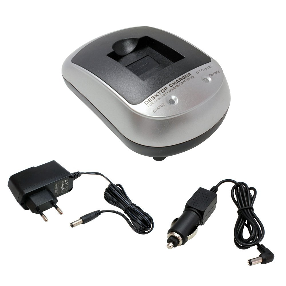 Cargador SET DTC-5101 para SJCAM SJ5000 Plus: Amazon.es ...