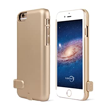 Funda de batería para iPhone 7 Plus, SURPHY Worlds Thinnest ...