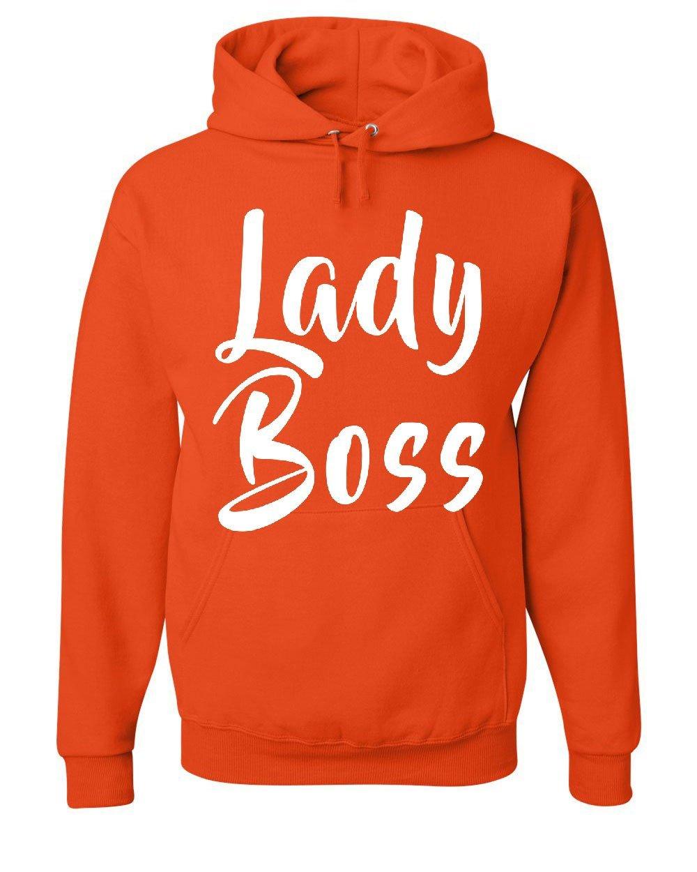373b034e Amazon.com: Tee Hunt Lady Boss Hoodie Funny Women's Rights Glam Girl Power  Feminist Sweatshirt: Clothing