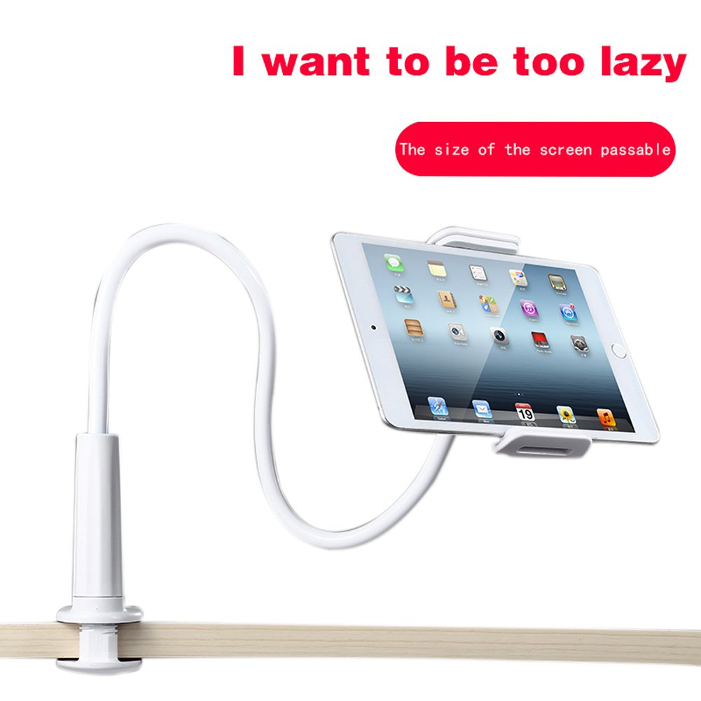 Jacksayso Universal 360 Degree Flexible Table Stand Mount Holder for iPhone iPad Tablets by Jacksayso (Image #3)