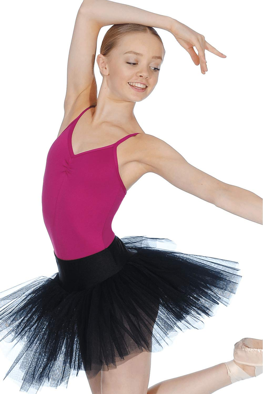 Soudittur Ballet Skirts Lace Pull On Dance Leotards Tutu for Girls Women Ladies