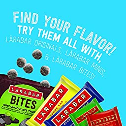 Larabar Snack Bar Variety Box, 8 Flavors (16 Count)