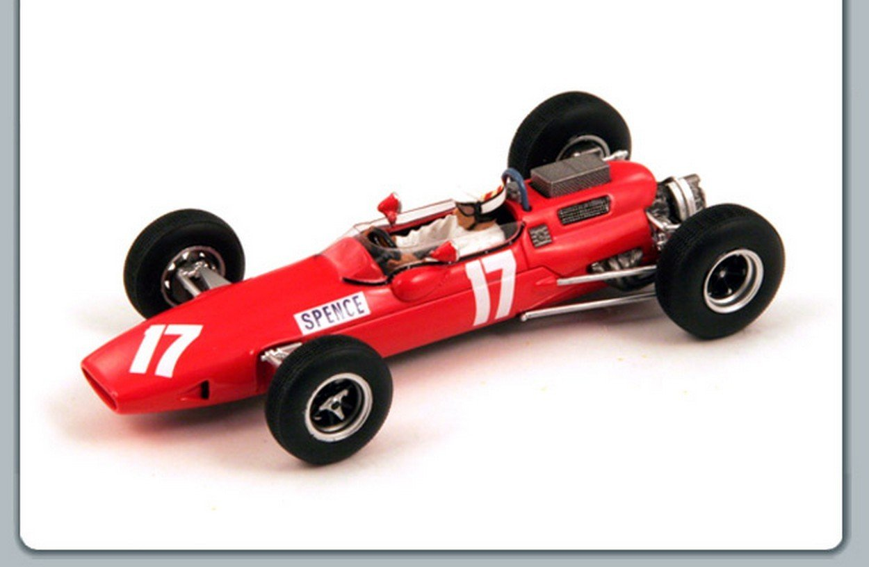 Spark Model S1853 Lotus 25 BRM BRM BRM M.Spence 1966 N.17 Retired British GP 1:43 Model b1c6c0