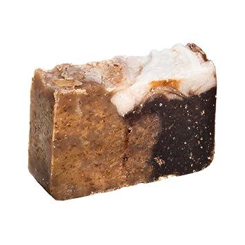 Pastilla de jabón de miel y avena (4Oz) - Orgánica y artesanal con aceites terapéuticos esenciales.